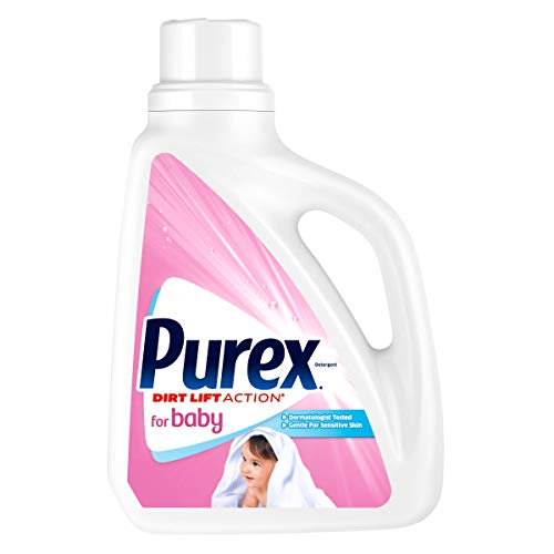Purex Liquid Laundry Detergent for Baby, 75 Fluid Ounces, 57 Loads