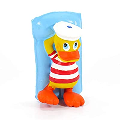 Pool Float Rubber Duck Bath Toy | All Natural, Organic, Eco Friendly, Squeaker | Imported from Barcelona, Spain