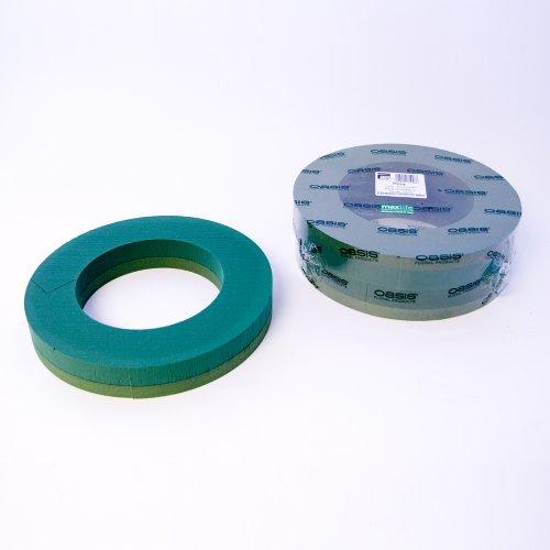 Pack of 2 Oasis Foam Wreath Rings 14' (36cm)