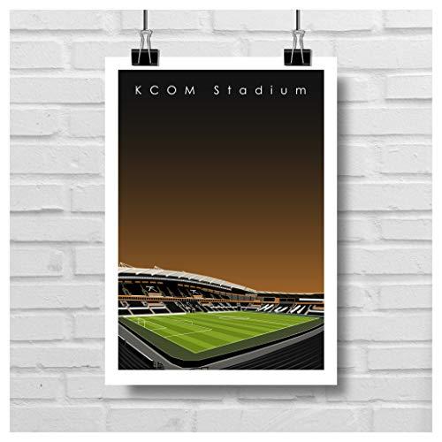 Home.Ground.Prints Wall Art Graphic Design Football Stadium Gift Print...