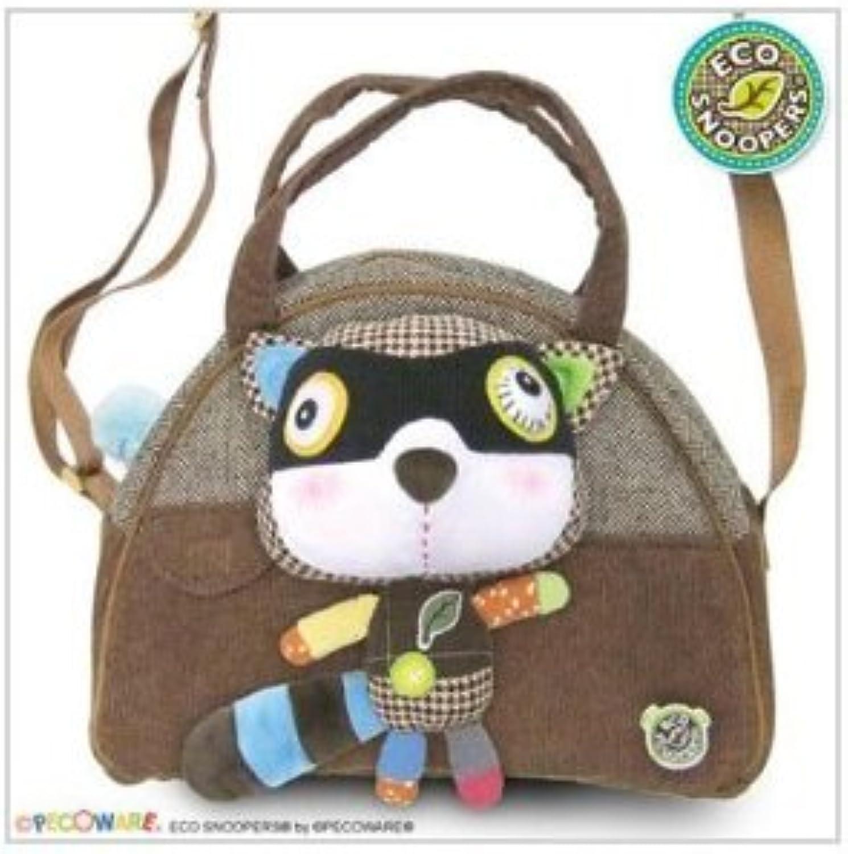 Eco Snoopers  Raccoon  Duffel Bag