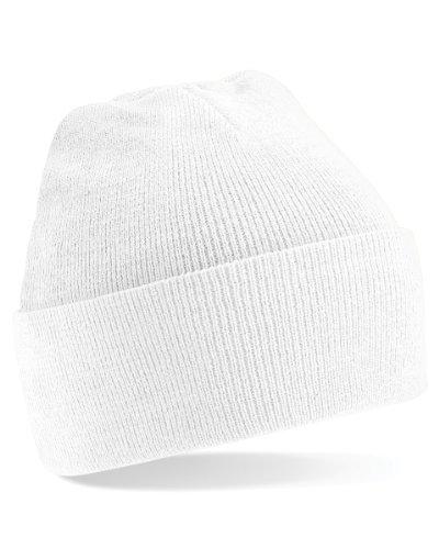 Beechfield BC045 Original Cuffed Beanie - White - One Size