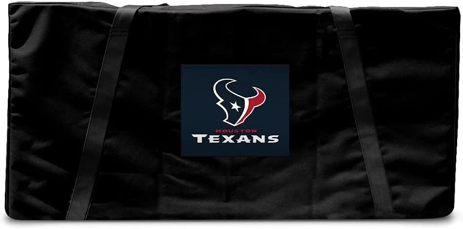 Milwaukee Mall Victory Tailgate Houston Texans OFFicial Regulation Cornhole Carrying Cas