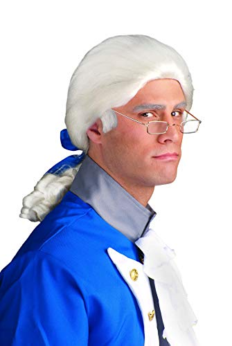 Forum Novelties Historical White Costume Wig