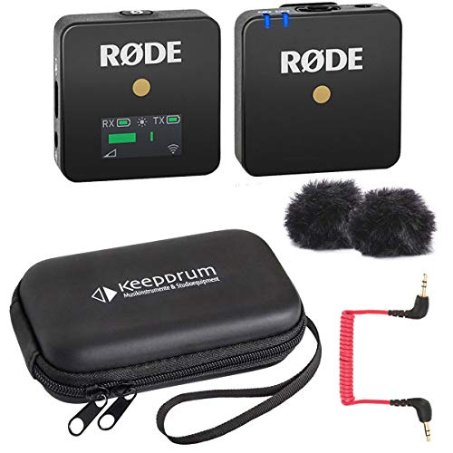 Rode WIGO Wireless GO - Sistema microfono senza fili + custodia morbida
