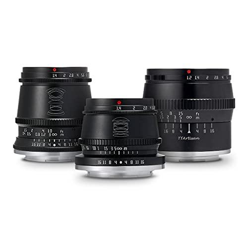 国内正規品銘匠光学 TTArtisan レンズ3本セット (ソニーEマウント APS-C) 17mm f 1.4 C ASPH + 35mm f 1.4 C + 50mm f 1.2 C