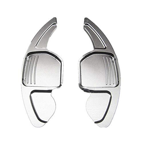 SAXTZDS Paleta de Cambio de Volante de aleación de Aluminio para Coche, Apto para Audi A3 S3 A4 S4 B8 A5 S5 A6 S6 A8 R8 Q5 Q7 TT DSG