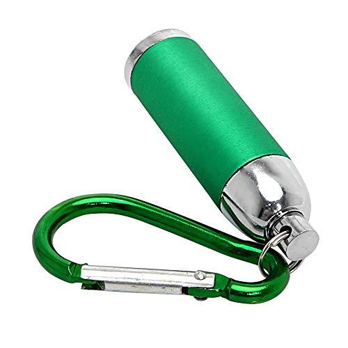 Led Taschenlampe mit schlüsselanhänger für Camping licht Taschenlampe heißer Mini tragbare licht teleskop zoomable