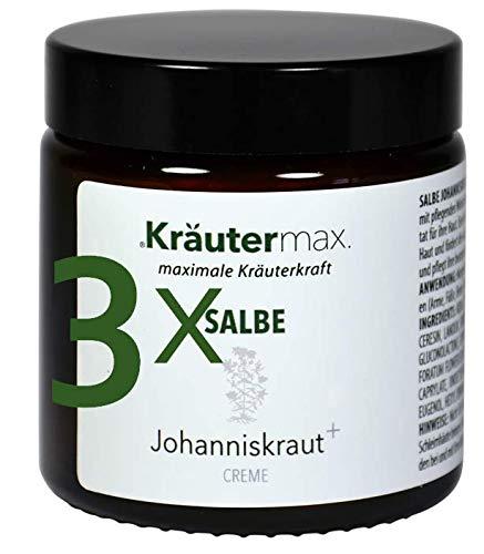 Johanniskraut-Salbe hochdosiert 3 x 100 ml Natur-Kosmetik