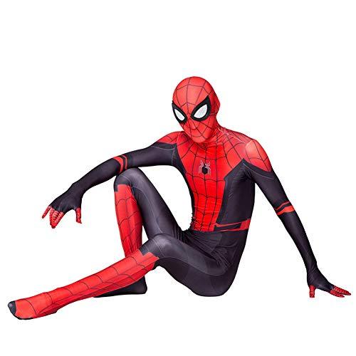 GUOHANG Traje de Spiderman niños Adultos 3D Anime Spiderman Traje Traje Medias Escenario Rendimiento casero Disfraces de Halloween Carnaval Cosplay disfrazaje Fiesta,Style 8,160~170CM