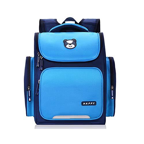 Ergonomischer Rucksack Grundschule Schultasche Für Mädchen Alter 6-12 Jahre Kinder Rucksack Schüler Büchertasche Für Schüler, Rot Und Blau