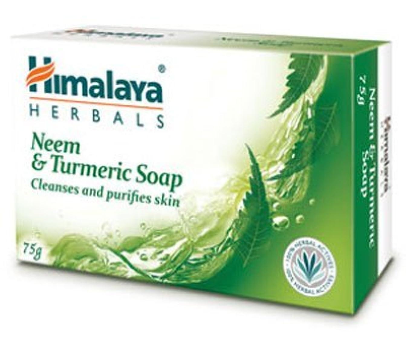コジオスコ毛布医学Himalaya Neem & Turmeric Soap - 125gm