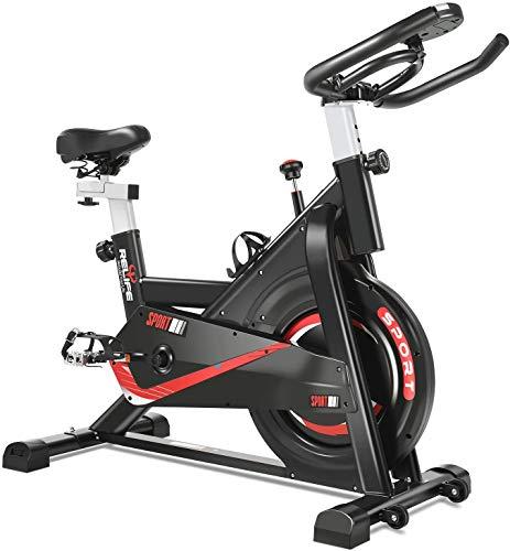 MGYQ Allenamento Spin Bike Professionale Cyclette, Cyclette Home Trainer, Bici da Fitness Cardio Trainer