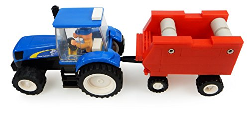 Universele hobbies – uhk1213 – tractor – New Holland met pers – 126-delig
