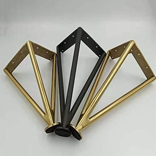 Furniture Feet Metall Sofa Beine * 4, Schwarz Verstellbare Kabinett Bein Bett Füße, Gold Möbel Hardware-Unterstützung Beine Fester Fuß 20cm / 25cm / 30cm