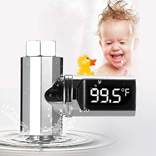 ACHICOO Dodecagon Passieve LED Screen Display Water Temperatuur Gauge Water Thermometer