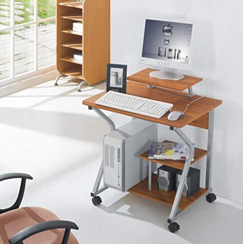 Techly 305700 Scrivania per Computer Compact Faggio