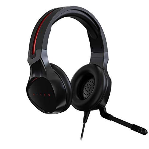 Acer Nitro Gaming Headset mit flexiblem omnidirektionalem Mikrofon, verstellbares Kopfband