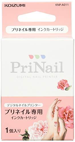 KOIZUMI DIGITAL NAIL PRINTER PriNail Ink Cartridge KNP-A011【Japan Domestic Genuine Products】 【Ships from Japan】