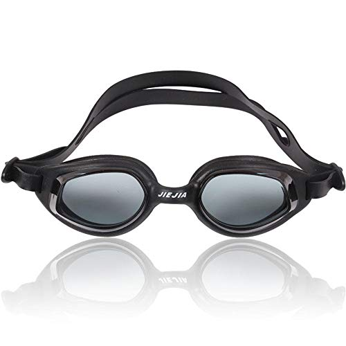 WANYD zwembril, verstelbare zwembril, anti-mist, uv-bescherming, triatlon, zwembril, comfortabele geïntegreerde anti-mist, zwembril, siliconen zwembril