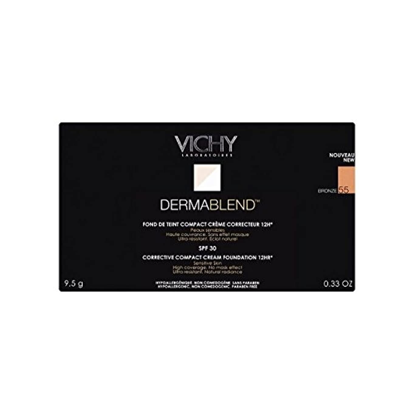 エジプト警戒スコットランド人Vichy Dermablend Corrective Compact Cream Foundation Bronze (Pack of 6) - ヴィシー是正コンパクトクリームファンデーションブロンズ x6 [並行輸入品]