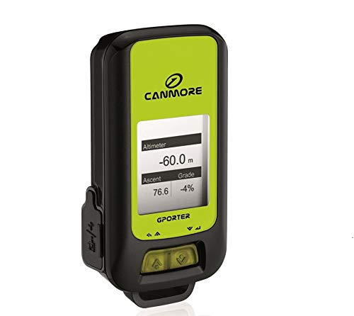 CANMORE G-Porter GP-102+ Multifunction GPS Device/Data Logger (Green)