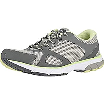 Vionic Women s Drift Tokyo Leisure Sneakers - Supportive Walking Shoes That Include Three-Zone Comfort with Orthotic Insole Arch Support Sneakers for Women Active Sneakers Grey 8 Wide US