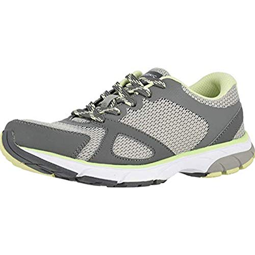 Vionic Women's Drift Tokyo Leisure Sneakers - Supportive Walking Shoes That Include Three-Zone Comfort with Orthotic Insole Arch Support, Sneakers for Women, Active Sneakers Grey 8.5 Medium US