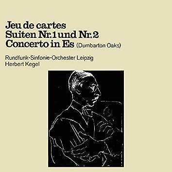 "Stravinsky: Jeu de Cartes / Suiten No. 1 & 2 / Concerto in Es-Dur, ""Dumbarton Oaks"""