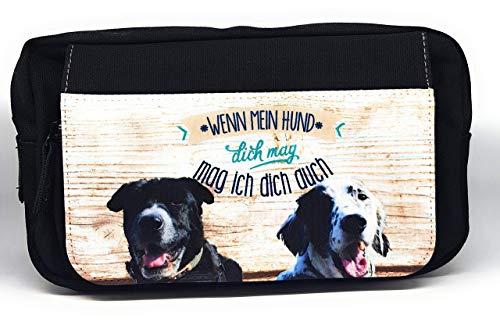 Bauchtasche mit individuellem Fotodruck, Leckerli-Tasche mit Wunschfoto/Wunschdesign, Dog-Walkers-Bag mit Deinem Vierbeiner.