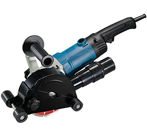 Dongcheng Electric Channel Hard-Anodized Aluminium Cutter Wall Chaser 1200 W (Black)