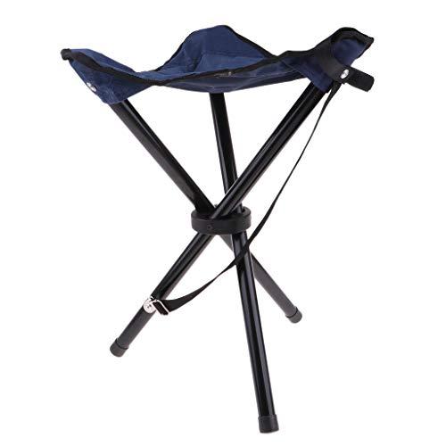 sharprepublic Fällbar ståstol utomhus vandring BBQ stol stålram Oxford tyg