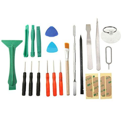 zhangxia Electronics Repair Kits 21 en 1 Kit de Herramientas de reparación de teléfonos for teléfonos móviles