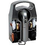 Le Studio 27-806 - Cera para zapatos (2 velocidades, con caja de pared, 4 cepillos y 2 ceras, 25 x 16 x 10,5 cm)