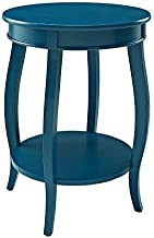 Powell Furniture Powell Teal Round Shelf Table