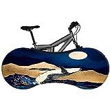 BINGFENG Funda Cubre Bicicletas para Interiores, Cubierta Protector Impermeable Bicicleta Montaña Funda Universal para Bicicleta Funda Bici para Interiores, la Mejor Solución, 160x55 Cm A