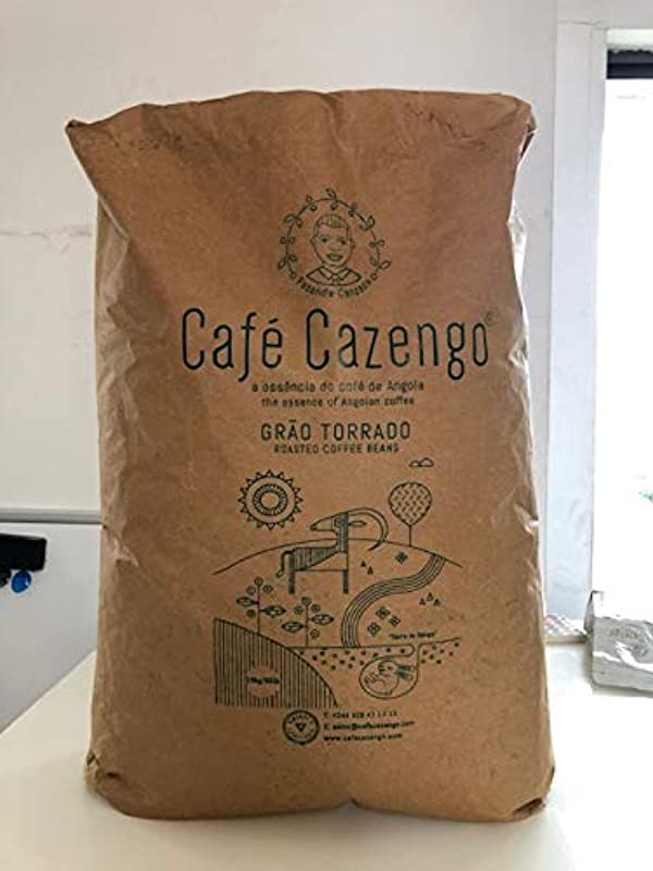 Cafe Cazengo HUGE 30 POUND BAG Organic African Roasted Coffee GREAT GIFT For Any Coffee Lover