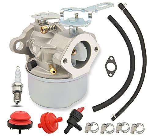 640084B Carburetor Snow Blower Carburetor Carb Compatible for Tecumseh 5HP MTD 632107A 632107 640084 640084A Toro 521 Snow Blower HSSK40 HSSK50 HS50 LH195SA - for 640084B Snow Blower Carburetor