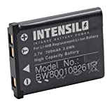 INTENSILO Li-ION Batterie 700mAh (3.7V) pour Appareil Photo Kodak Pixpro Friendly Zoom FZ51, FZ52, FZ53 comme Kodak LB-012.