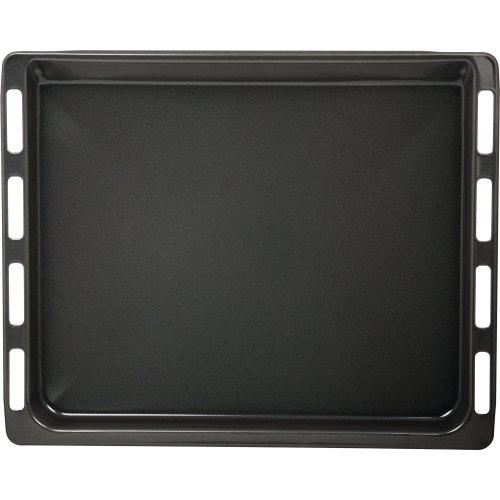 Bosch Backblech emailliert (mit N13 Stop, pyrolysefest, 46,5 cm x 37,5 cm x 2,9 cm) schwarz