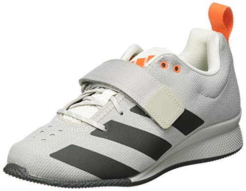 adidas Adipower Weightlifting II, Zapatillas Halterofilia Hombre, GRIMET/TIELEY/NARANJ, 44 EU