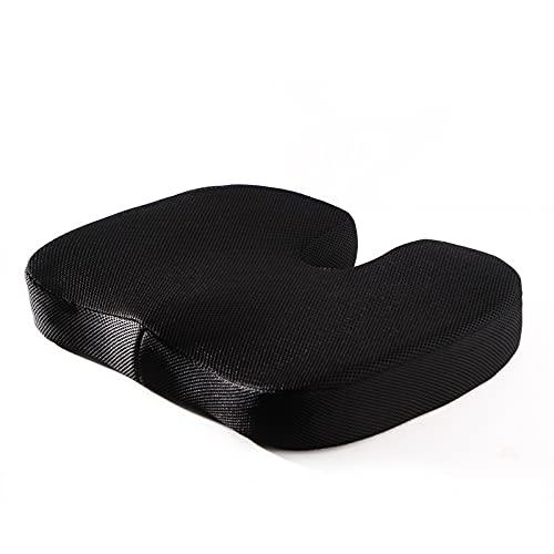 TAIJUN Cojín ergonómico para asiento ortopédico, cojín exterior adecuado para largos períodos de sentado, adecuado para aprender sobre el estadio de la oficina