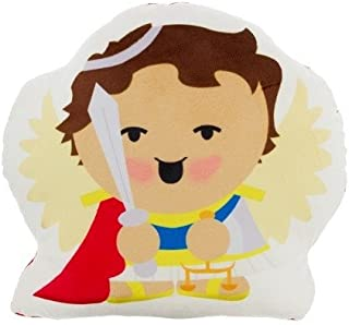Sacred Heart Toys Soft Pillow to Play and Pray St Michael The Archangel Small Toddler Buddy Pillow