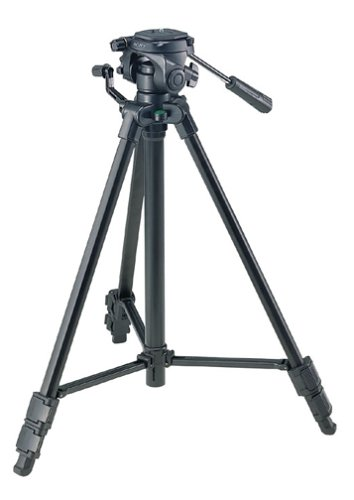 Sony VCT-R640 Lightweight Tripod for DSCV1/P41/W1/P93/P73/P92/P100/P150/F88/F828 Digital Cameras,black