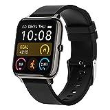 Smartwatch Mujer Hombre,Relojes Inteligentes Impermeable IP67 con Pulsómetros Podómetro...
