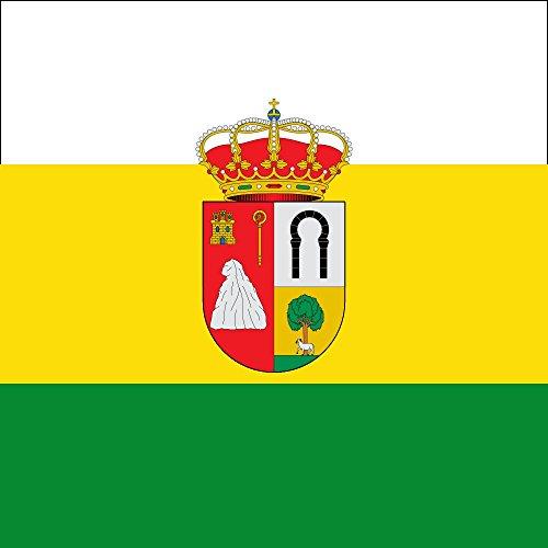 magFlags Bandera Large Barriosuso Santibáñez del Val, Burgos, España | 1.35m² | 120x120cm