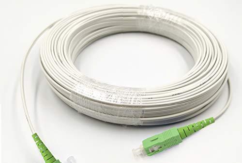 Fiber óptica Cable SC/APC SC/APC monomodo simplex