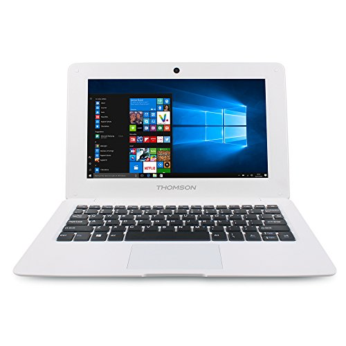 Thomson Notebook - Portátil de 10.1' (Atom Z3735, RAM de 1 GB, Memoria de 32 GB) Color Blanco