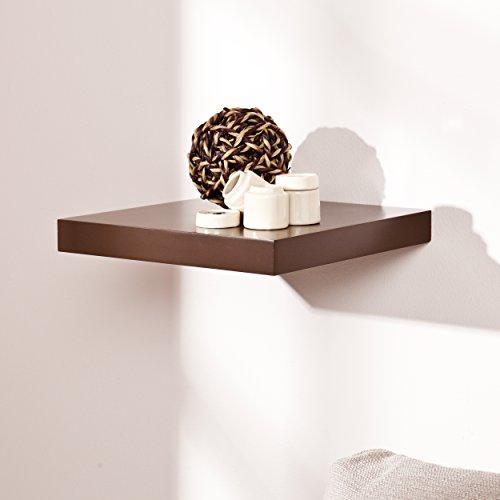 Home Decorators Collection Aspen Floating Shelf, 10', Espresso