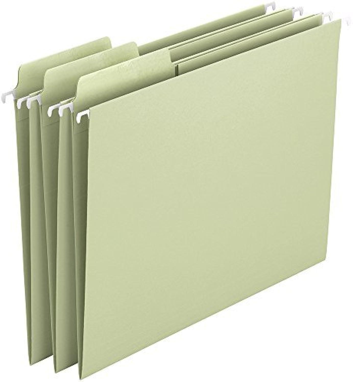 Smead Smead Smead Erasable FasTab® Hanging File Folder, 1 3-Cut Built-In Tab, Letter Größe, Moss, 20 per Box (64032) by Smead B0141MNWDE | Ausgang  19afbf